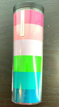 Starbucks 2014 Tumbler 16oz Candy Color Double Wall Fit Car Holder Snap ... - $29.21