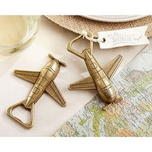 Let The Adventure Begin Airplane Bottle Opener (pack of 30) - $92.15