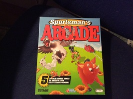 Sportsman's Arcade PC CD-ROM Value Works Creative Carnage Xantera 1999 W... - $18.25
