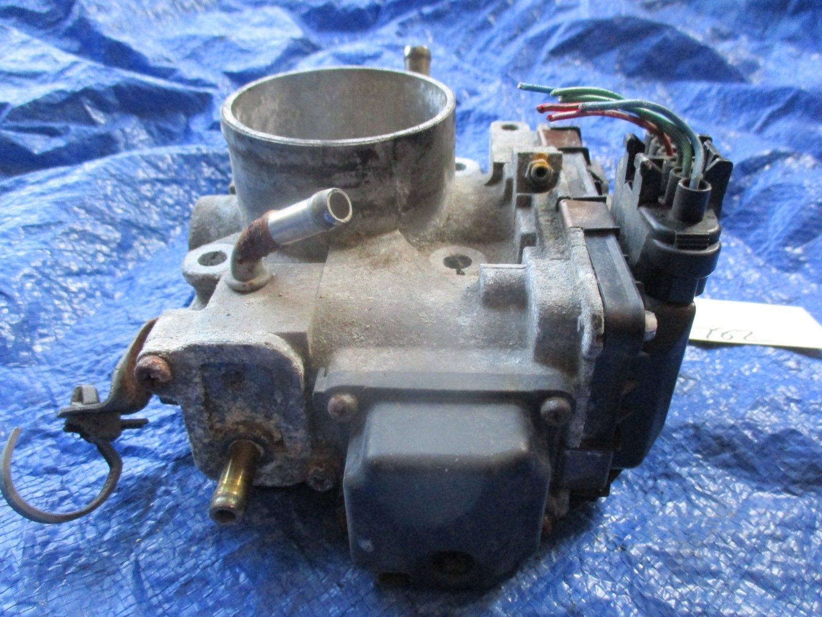 2004 Acura TSX K24A2 throttle body assembly OEM engine motor K24A base 782 GMB1A image 3
