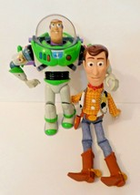 Toy Story Woody and Buzz Lightyear doll GRAY Buzz talks Woody no longer ... - $34.64