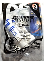 Star Wars Episode 1-McDonalds-R2-D2 Spinner Toy-2012 - $4.00