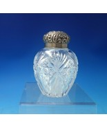 """S. Cottle Co. Sterling Silver Tea Caddy with Cut Crystal #3 4 3/4"""" x 3"""" ... - $256.41"""
