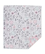 Lolli Living Baby Quilted Comforter in Sparrow. Modern Quilted Baby Blan... - $41.55