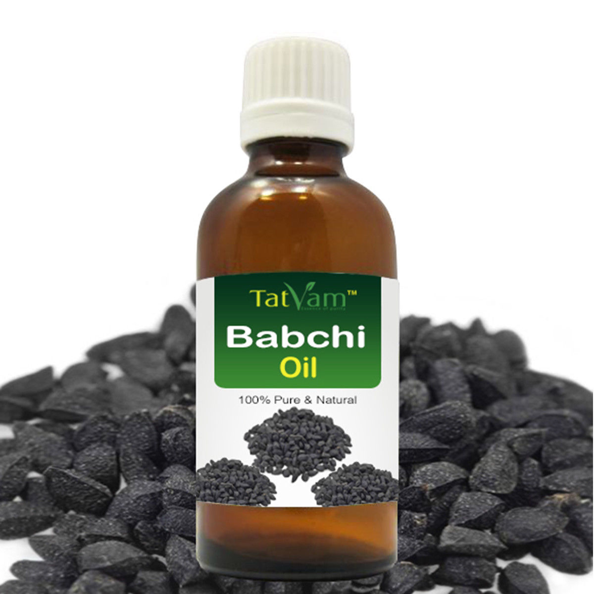 Primary image for Babchi Oil (Psoralea Corylifolia) 100% Natural Pure Essential Oil 30ml