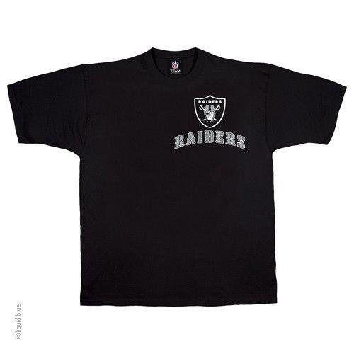 New OAKLAND RAIDERS  RUNNING BACK  T Shirt BLACK shirt NFL TEAM APPAREL