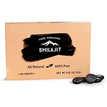Shilajit Dry Drops from Pure Himalayan Shilajit ® - 60 Counts, 2 Month S... - $16.39