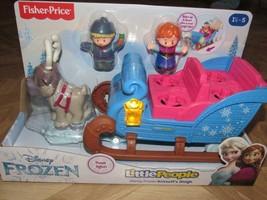 Little People Disney Prinzessin Eiskönigin Kristoff's Schlitten Anna Sve... - $29.94