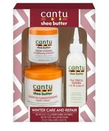 Cantu Winter Care & Repair Gift Set - Strengthening Treatment Cream Scal... - $12.82