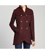 NWT Kenneth Cole Women's  New York Double Breasted Tulip Wool  Coat  siz... - $79.19