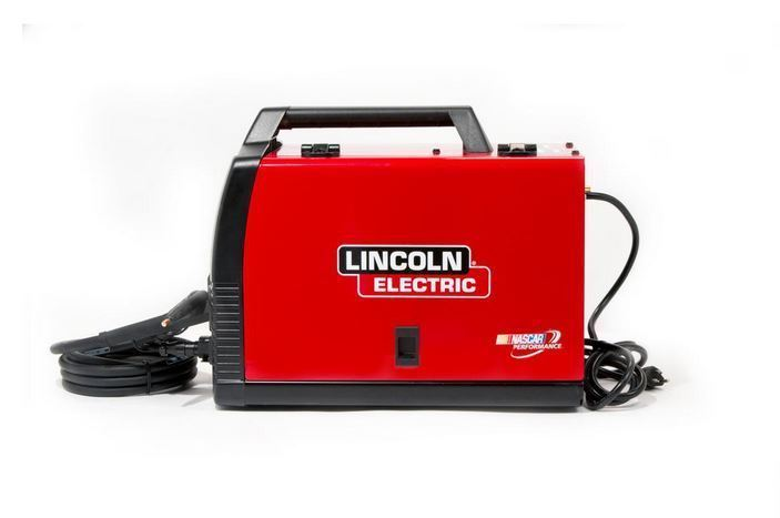 Lincoln Electric Weld Pack Hd Feed Welder Core Wire Portable Welding Machine New