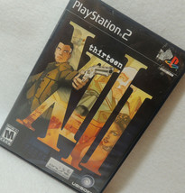Xiii Thirteen (Play Station 2, PS2 2003) Complete! - Ex! - $14.84