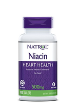 Natrol Niacin Time Release 500mg Tablets, 100-Count - $10.73