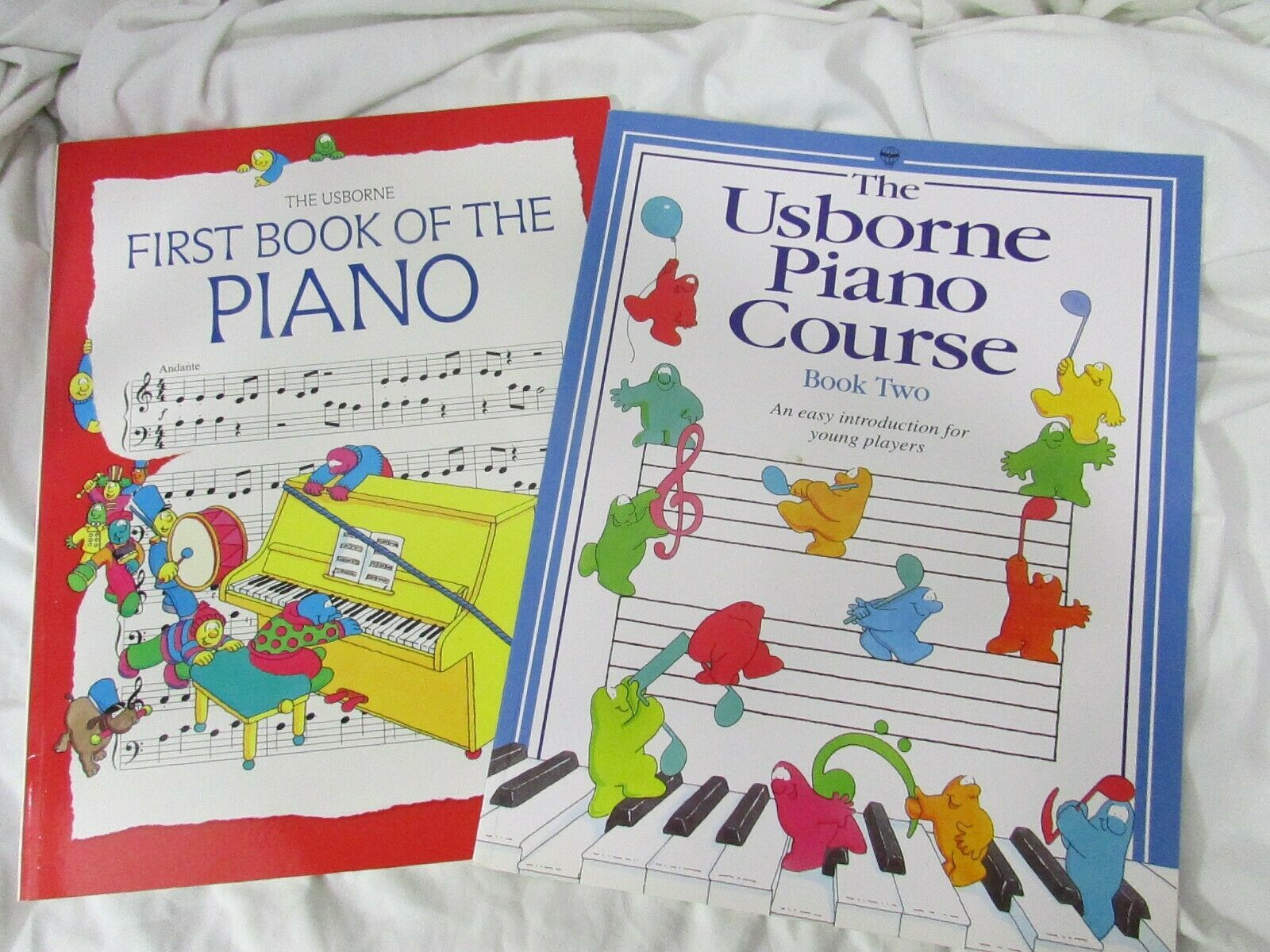 Primary image for The USBORNE Piano  Course/ first book music LOT
