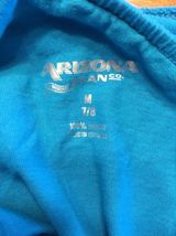Arizona Girl's Blue One Shoulder Shirt / Blouse - Size: Medium 7/8 image 8