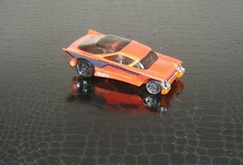 2001 MATTEL HOT WHEELS ORANGE NOMADDER WHAT DIE CAST CAR - $3.99