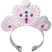 Sofia the First Princess Birthday Party Favor Tiara Headbands 4 Per Package - $3.22