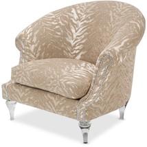 Michael Amini ST-DORIA35-QTZ-002 Doria Barrel Chair, Clear with Crystals - €926,59 EUR