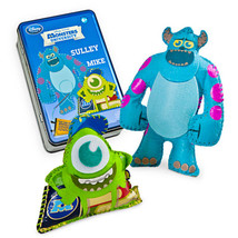disney monsters university sew your own monster kit playset new with sealed tin - $12.93