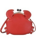QZUnique Women's PU Crab Clasp Closure Tote Handbag Cute Satchel Cross ... - $69.22 CAD