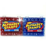 Learning Resources Lowercase and Uppercase Alphabet and Punctuation Stam... - $18.80