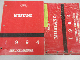 1994 Ford Mustang Service Shop Reparatur Werkstatt Manuell Set OEM W Evtm - $79.15