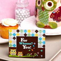 20 owl picture frame place card holder favor wedding birthday baby showe... - $23.17