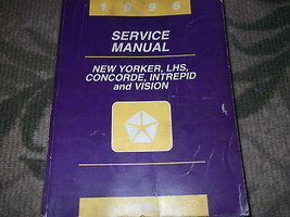 1996 Chrysler Concorde Intrepid LHS New Yorker Vision Service Shop Manual FEO - $44.06