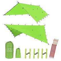 12ft Extra Large Tarp Hammock Waterproof Rain Fly Tarp 185in Centerline ... - $28.07