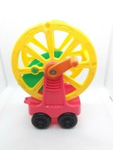 Fisher Price Little People Zoo Talkers Train Replacement Ferris Wheel Car - $6.80