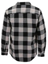 Men's Premium Cotton Button Up Long Sleeve Plaid Comfortable Flannel Shirt image 12