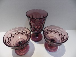 NORITAKE Perspective Plum (2) Champagne Sherbet (1) Iced Tea - $25.74