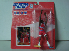 1997 Starting Lineup NBA Series 10 LA Clippers Loy Vaught Action Figure MIP - £8.16 GBP
