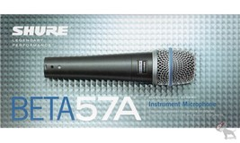 Shure BETA 57A Supercardioid Dynamic Microhone for Vocal/Instrument Appl... - $109.99