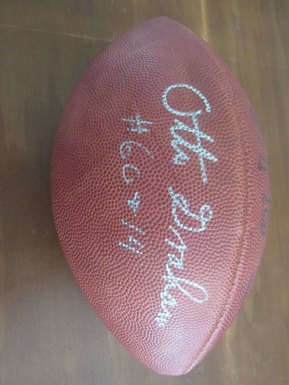 Primary image for OTTO GRAHAM # 60 & 14 CLEVELAND BROWNS HOF SIGNED AUTO VTG ROZELLE FOOTBALL JSA