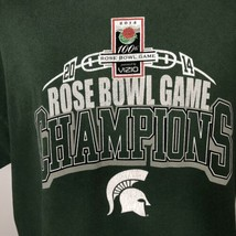 Alstyle 2014 Michigan State Rose Bowl Game Champion T Shirt Size XL Extr... - $19.79