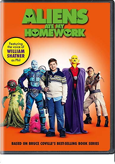 Aliens Ate My Homework DVD
