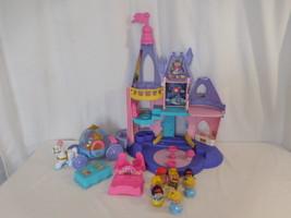 Little People Disney Princess Musical Castle + Princess's + Princess Carriage + - $38.02