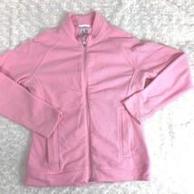 Adidas Womens Sz XS Thermal Climawarm Long Sleeve Shirt Zip Up Jacket Pink - $24.99