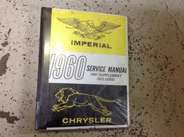 1960 Chrysler Imperial Service Shop Repair Manual Brand New Factory Reprint - $39.55