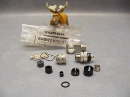 Connector BMSWS 8251-8,5 Turck Male Right Angle 5 Pin Screw - $18.18