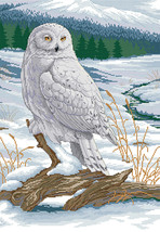 Snowy Owl # 2 Cross Stitch Pattern***LOOK*** - $4.95