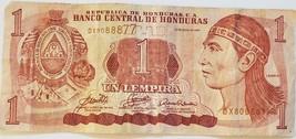 Banco Central de Honduras 1 Lempira 13 Julio de 2006 Bank Note DX8088877 - $2.95