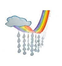 Hanging Rainbow and Cloud Ceiling Decoration (12 feet long) - €13,47 EUR