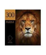 """Lion Face Design Jigsaw Puzzle 300 pc Durable Fit Pieces 11"""" x 16"""" Complete - $19.79"""