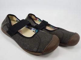 Keen Sienna Mary Jane Size US 9 M (B) EU 39.5 Women's Canvas Shoe Black 1014731