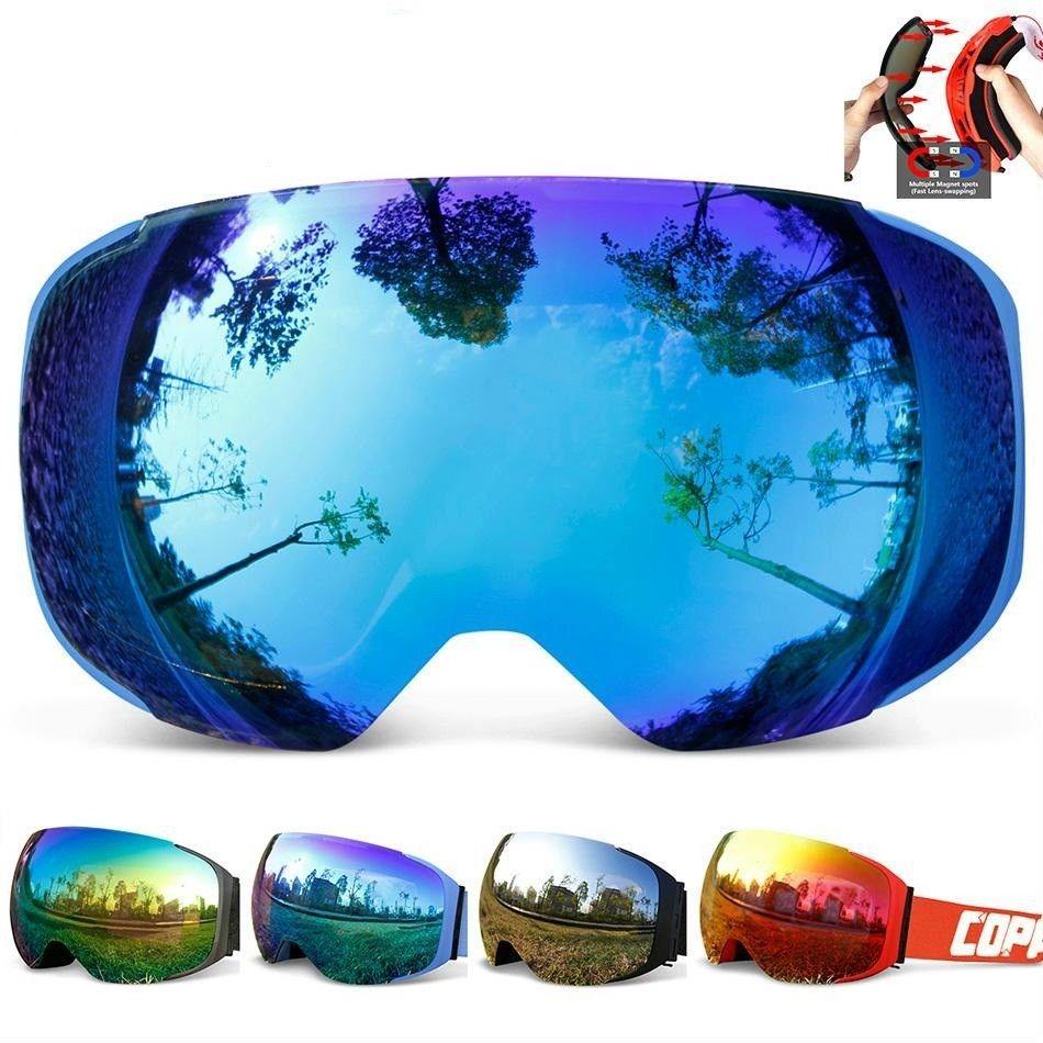 15078d1c180 S l1600. S l1600. Previous. Ski Googles Snow Anti Fog Mask Glasses Man and  Women Windproof Snowboard Goggles