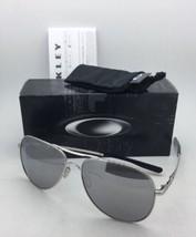 Neuf Oakley Lunettes de Soleil Elmont L Oo4119-0860 Chrome Aviator Cadre - $199.57