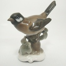 "Rosenthal Brown Titmouse Bird Figurine #849 by Hugo Meisel 1950s 3.5"" - $42.31"