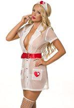 Naughty Nurse Heartstopper Sexy Adult Deluxe Costume Set image 2